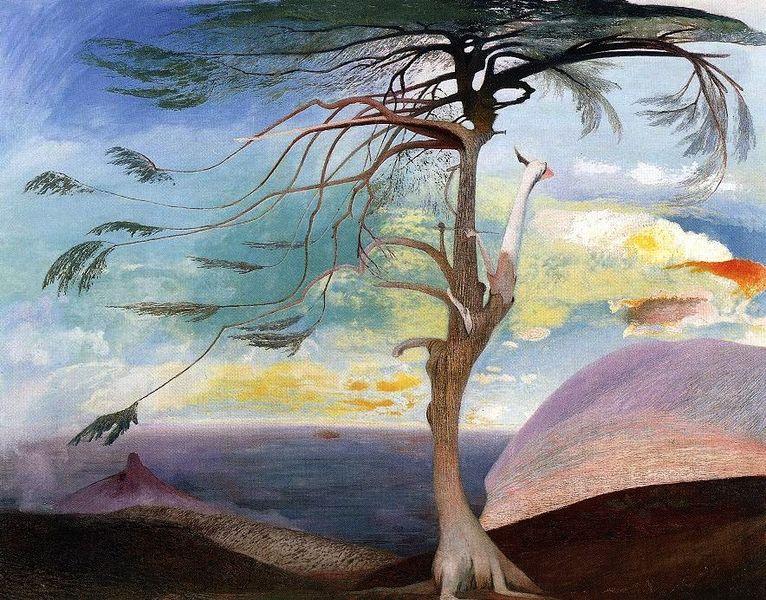 Csontváry Kosztka Tivadar : The Lonely Cedar, 1907, Csontváry Museum, Pécs