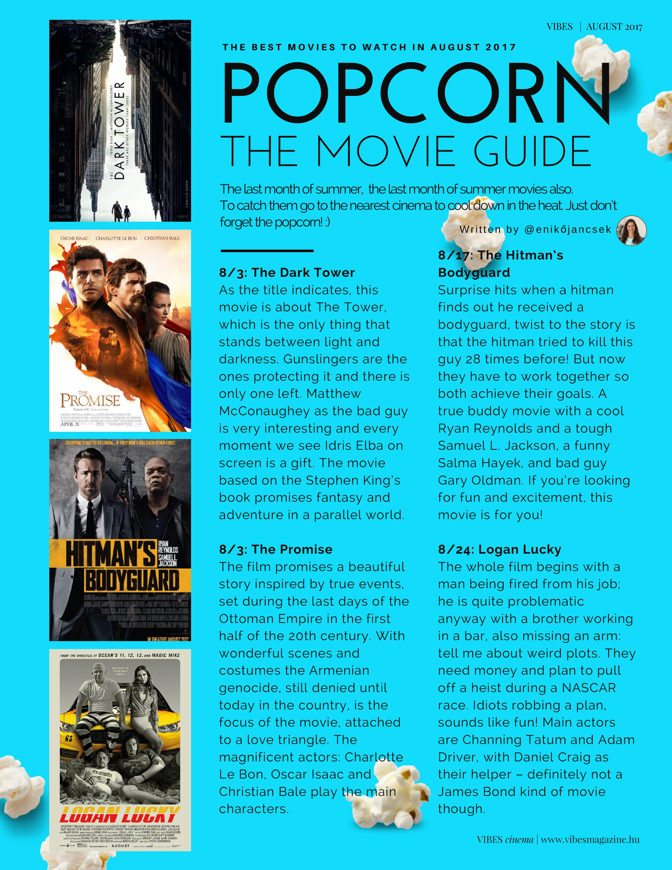 foxtel movie guide august 2017